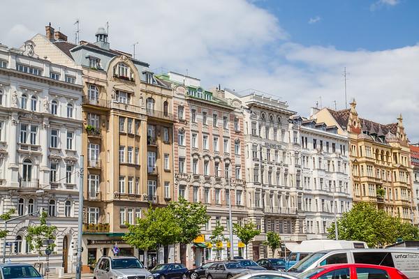 Architecture in Central Vienna
