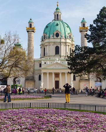 Spring scenes in Vienna