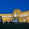 Austrian National Library at night