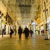 Kohlmarkt in Vienna at Christmas