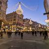 Graben Street in Vienna at Night during the Christmas Season