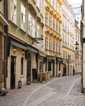 Cobbled streets of Vienna