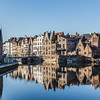 Old Buildings in Ghent during the day