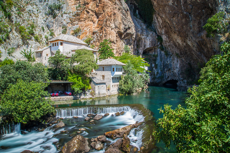 Waterfalls at Blagaj