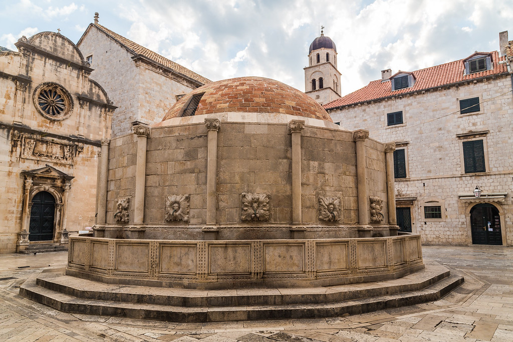 Onofrio's Big Fountain, Dubrovnik Old Town
