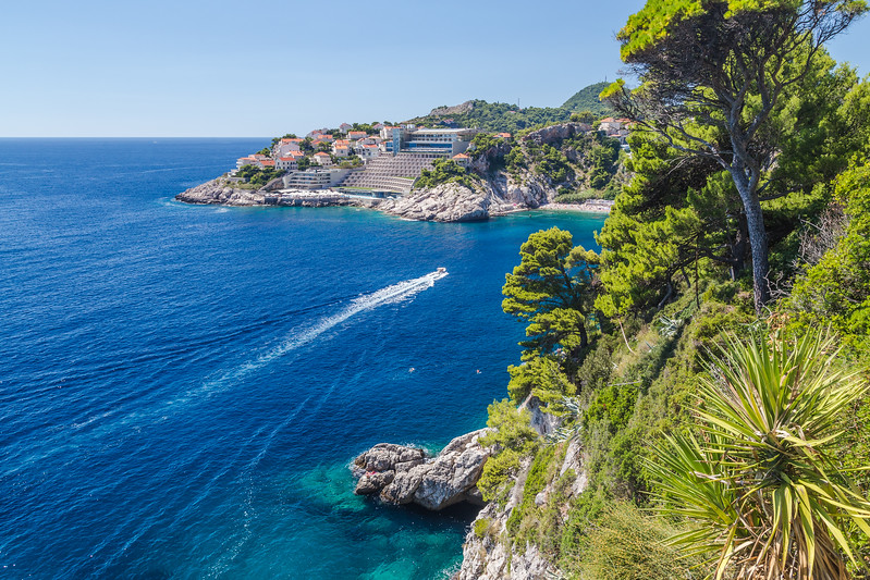 Dubrovnik Coast in the Summer