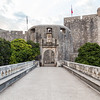 Dubrovnik Pile Gate in the morning