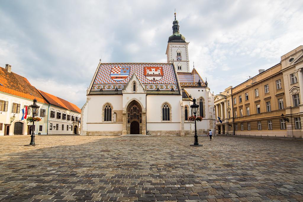 St Marks Church, Zagreb