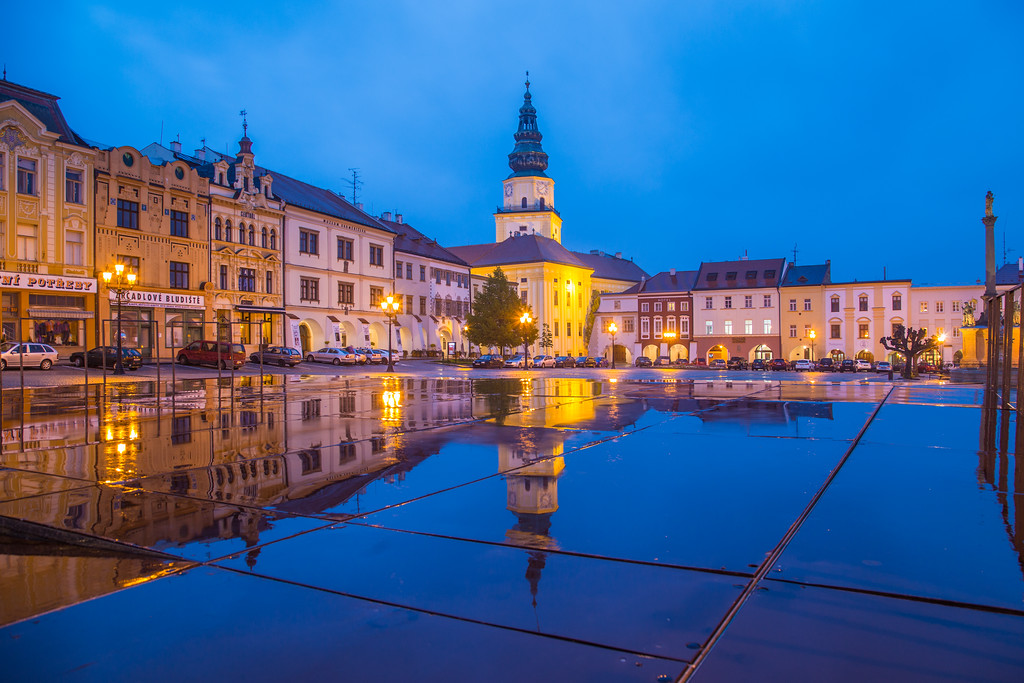 Architecture in Kromeriz
