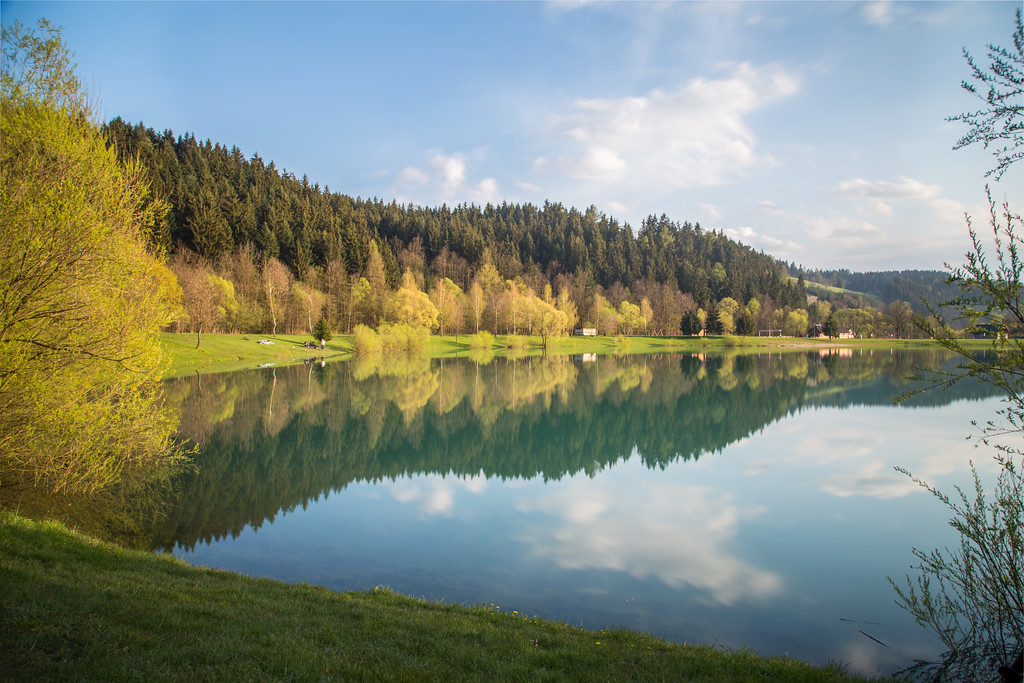 Beautiful Lakes in Moravia Czech Republic