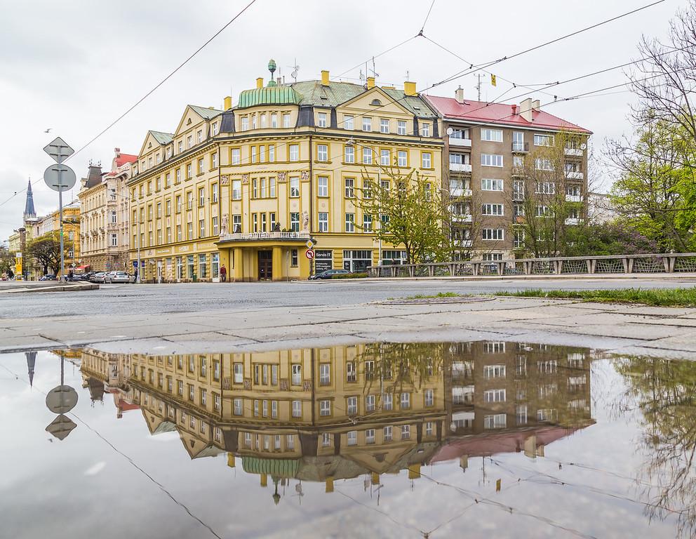 Buildings in Olomouc Czech Republic