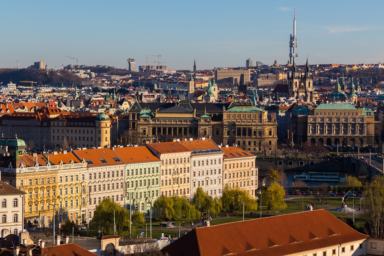 Prague Cityscape During the Day