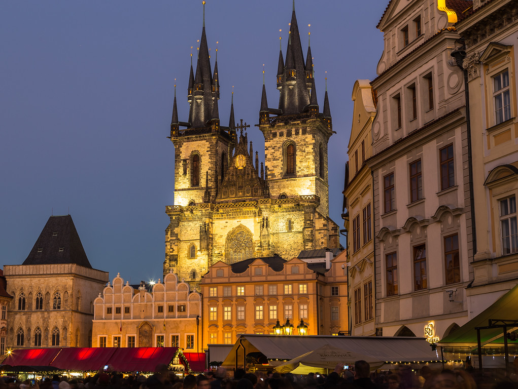 Prague Old Town Square at Christmas