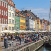 Colourful architecture at the Nyhavn in Copenhagen