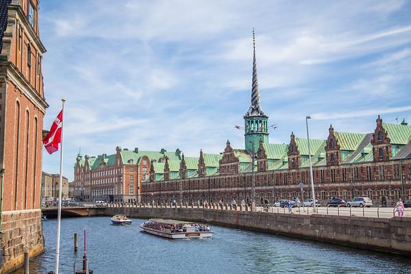 Borsen Old Stock Exchange in Copenhagen Denmark