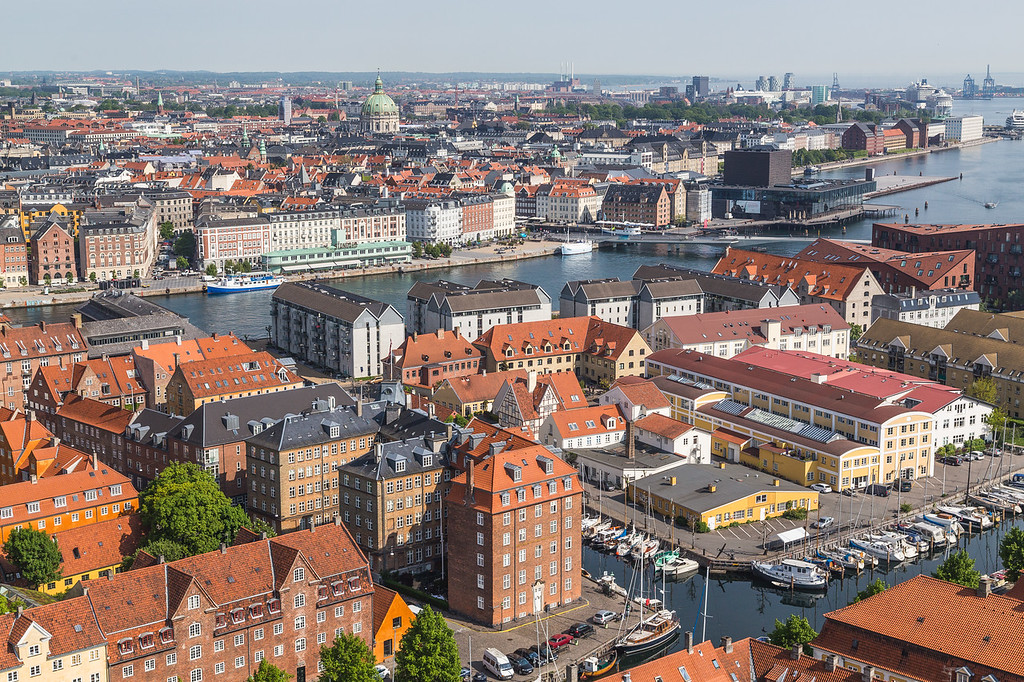 Copenhagen Skyline during the day