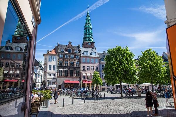 Streets of Copenhagen, Denmark