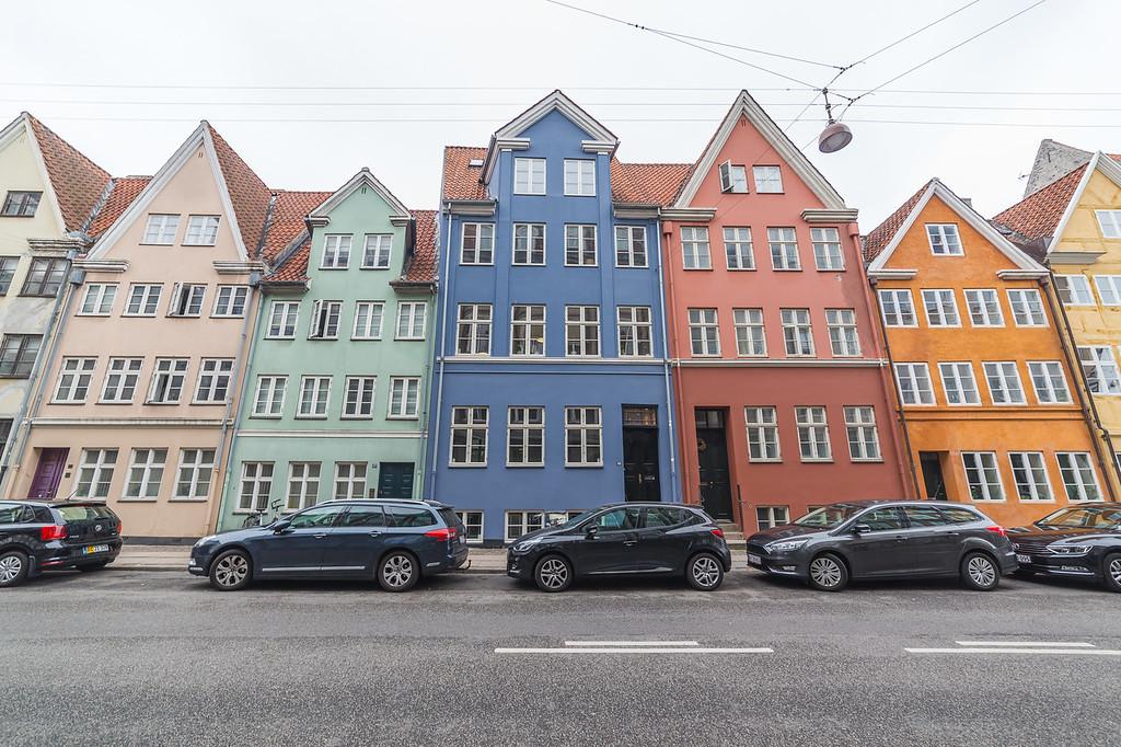 Colourful architecture in Copenhagen