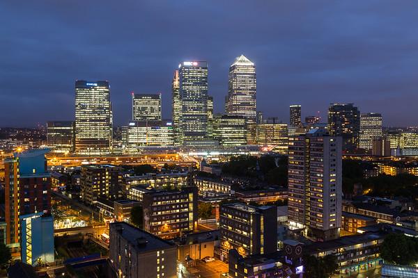 Canary Wharf and East London
