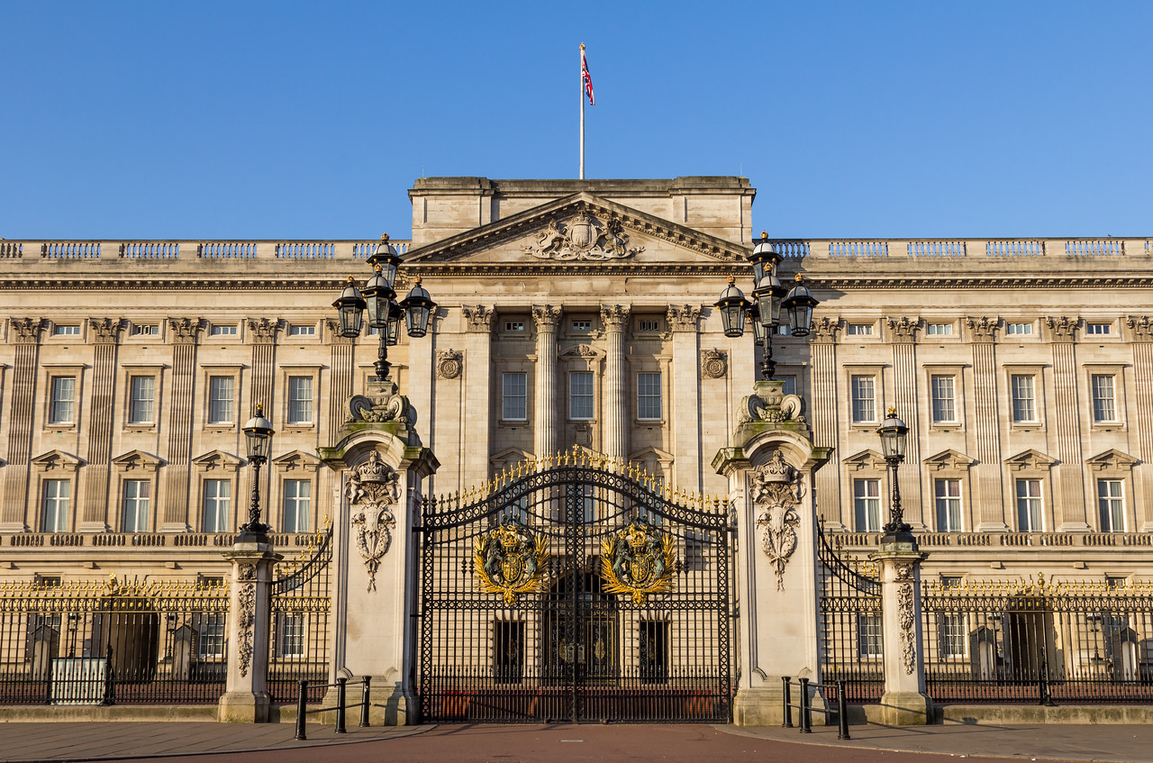 Buckingham Palace Front Gates