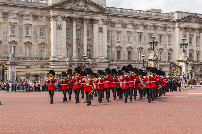 Changing of the Guard Performance at Buckingham Palace