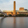 Tate Modern and Millenium Bridge in the Morning