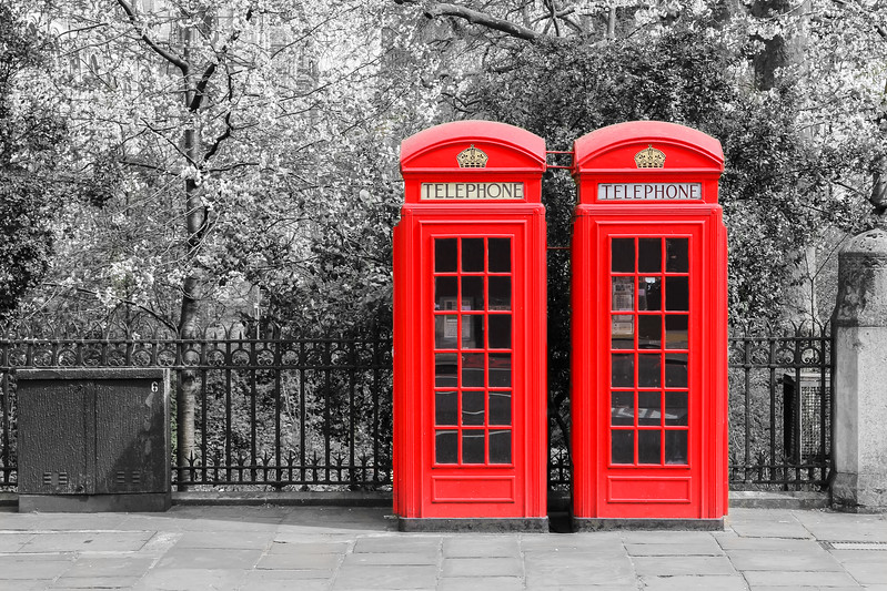 London Red Telephone Boxes