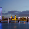 London Night Cityscape