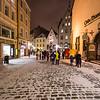 Old Town Tallinn in the Winter