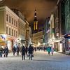 Viru Street and Tallinn Town Hall