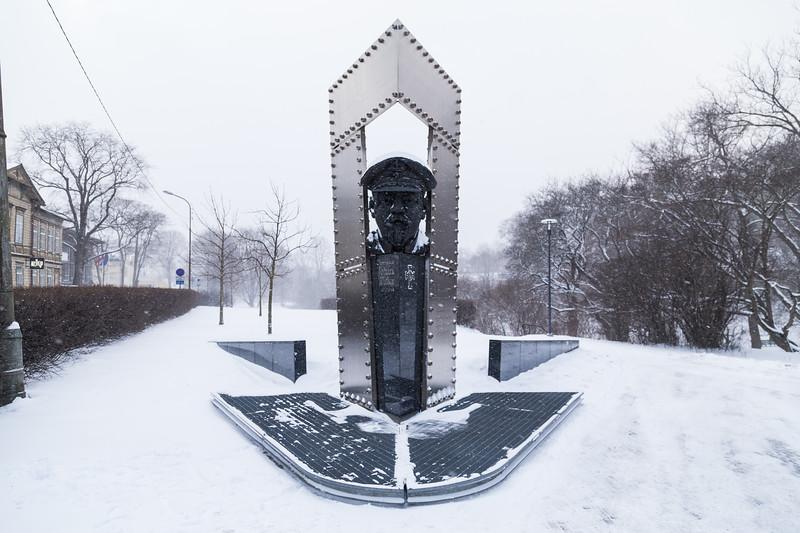 Johan Pitka Monument in Tallinn