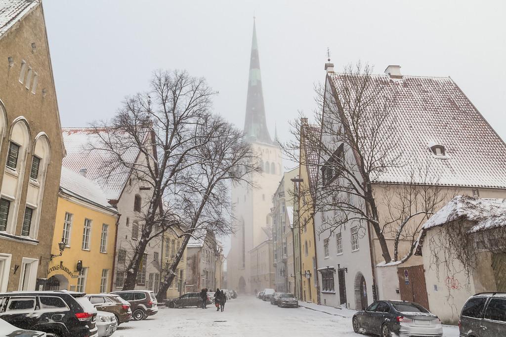 St Olaf's Church in Tallinn