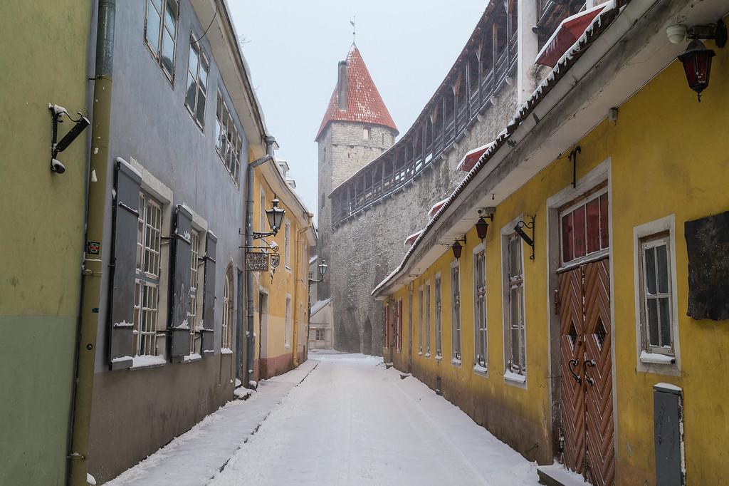 Old Medieval Streets of Tallinn