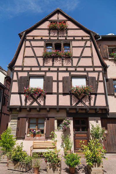 Building Closeup in Colmar