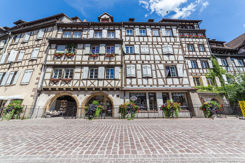Old Buildings in Colmar, Alsace