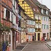 Colourful Timber Framed Buildings in Colmar, France