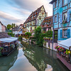 La Petite Venise in Colmar at Sunset