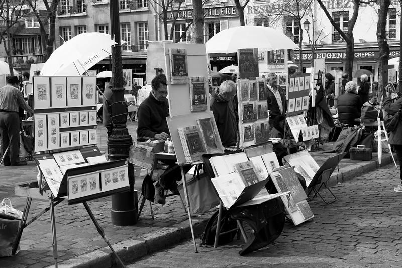 Painters in Paris