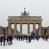 Brandenburg Gate in the Winter