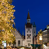 Munich Christmas Market with Spielzeugmuseum and the Christmas Tree