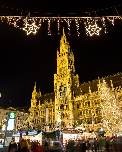 Christmas Market in Munich Germany