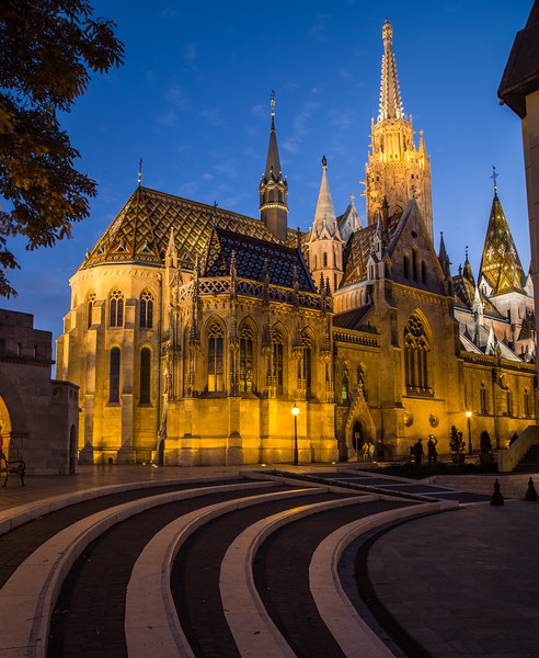 Matthias Church in Budapest during the Day