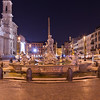 Piazza Navona Rome at Night