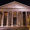 Pantheon Rome at Night