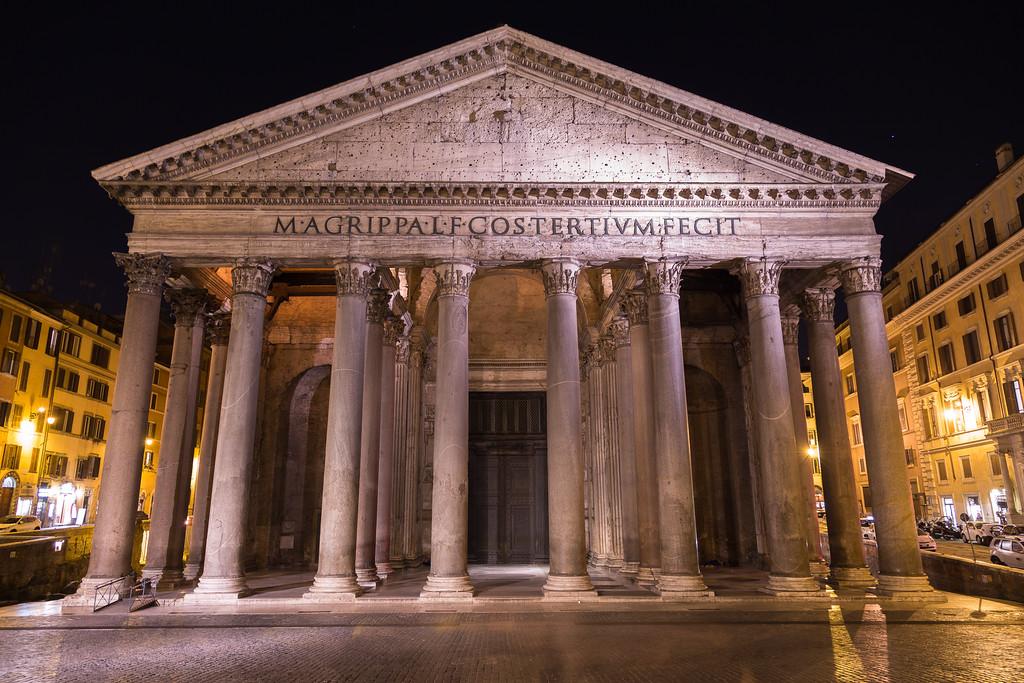 Pantheon Rome at Night