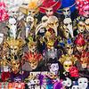 Large amounts of Venetian Masks