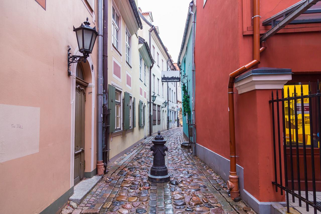 Torna Iela in Riga Old town