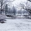Bastejkalna Park, Riga in the Winter