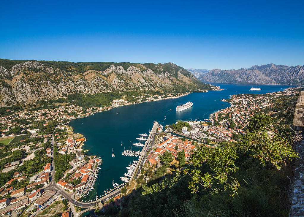 Kotor Skyline during the day