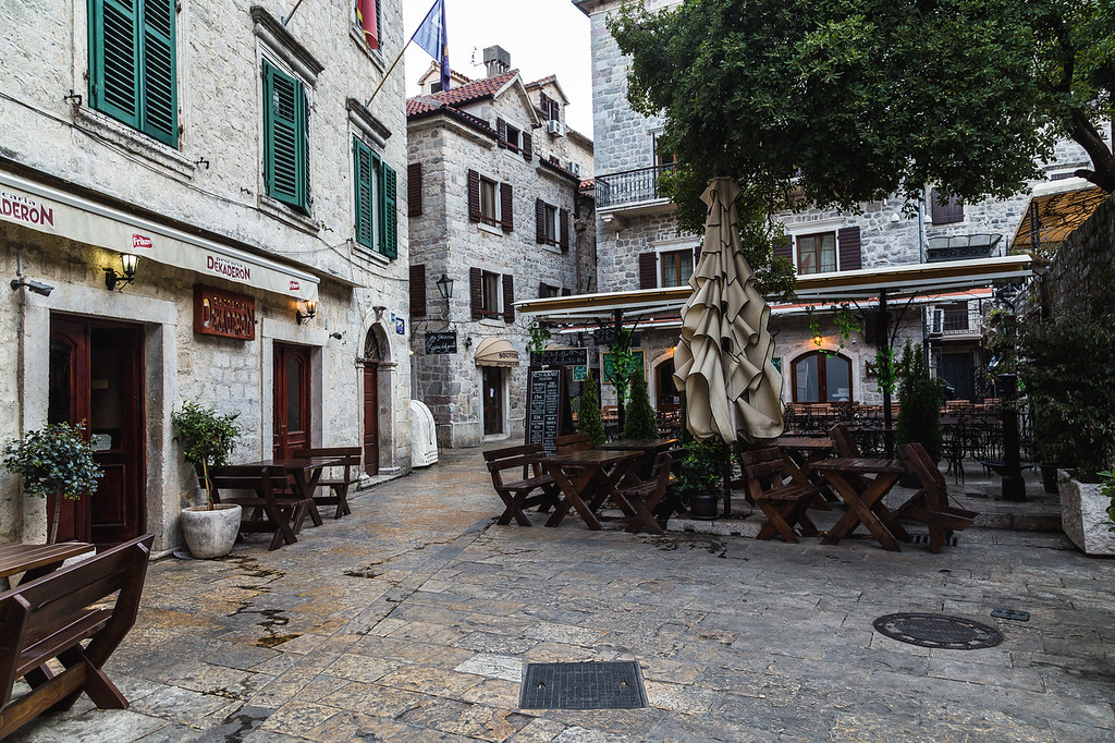 Streets of Old Town Kotor